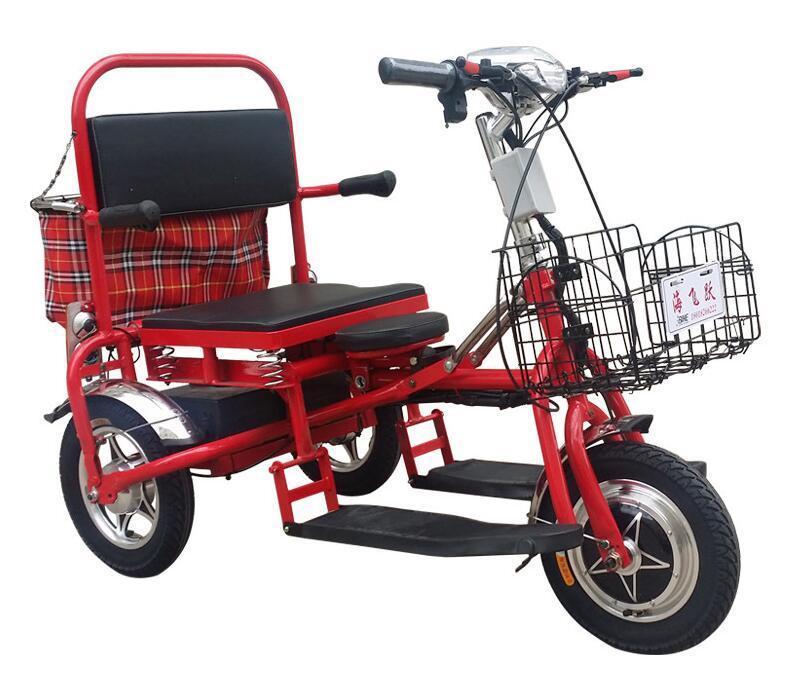 Fabrika Doğrudan Hayat 55 Km Yaşlı Katlanır Elektrik Tricycle Yetişkin Taşınabilir Üç -Wheeled Elektrikli Araba Toptan Atv