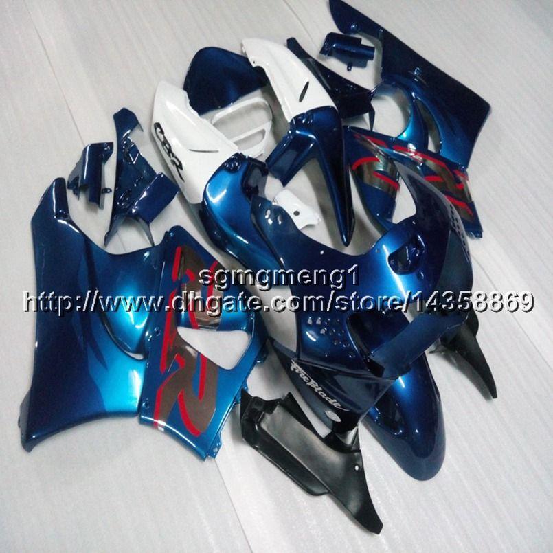 23colors + Viti pannelli moto bianco blu per HONDA CBR919RR 1994 1995 1996 1997 CBR900R Carena in plastica ABS carena