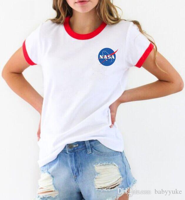 Tops baratos Tops Camisetas de verano impresas Ropa impresa 247 Cuello Ropa de mujer Camiseta Suéter de manga corta Muchachas Redondeadas JGHQF