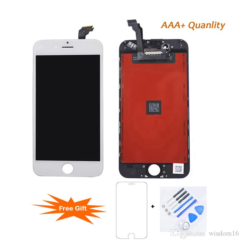 For iPhone 6 100% Strictly Tesed Working LCD Touch Screen Display Digitizer Assembly Replacement Best Quality Factory Price