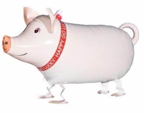 Animal Farm Animal Cochon Ballon Fête D/'Anniversaire Walking ballon avec jambes