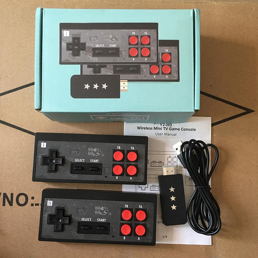 4K HD Y2 Retro Game Console Support 2 Players HDMI Video Game 568-In Classic Video Games USB Handheld Infrared Retro Gamepad Controller