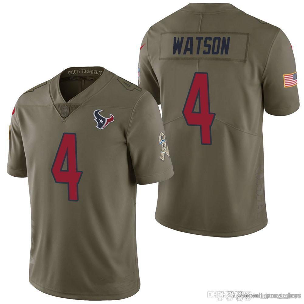 131d66aea40 2019 Sale Tennessee 8 Marcus Mariota Titans Jersey 78 Alejandro Villanueva  Steelers Houston 4 Deshaun Watson Texans J.J. Watt Salute To Service From  ...