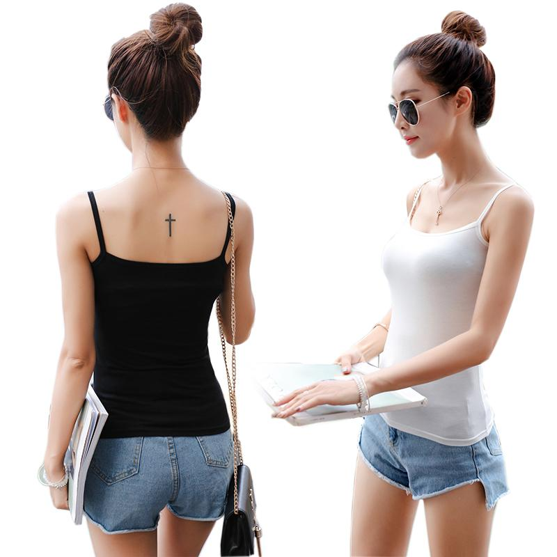 Summer Tank Top Women Sexy Sleeveless Basic Tops Blusas Casual Vest Camisole tanks tops Women