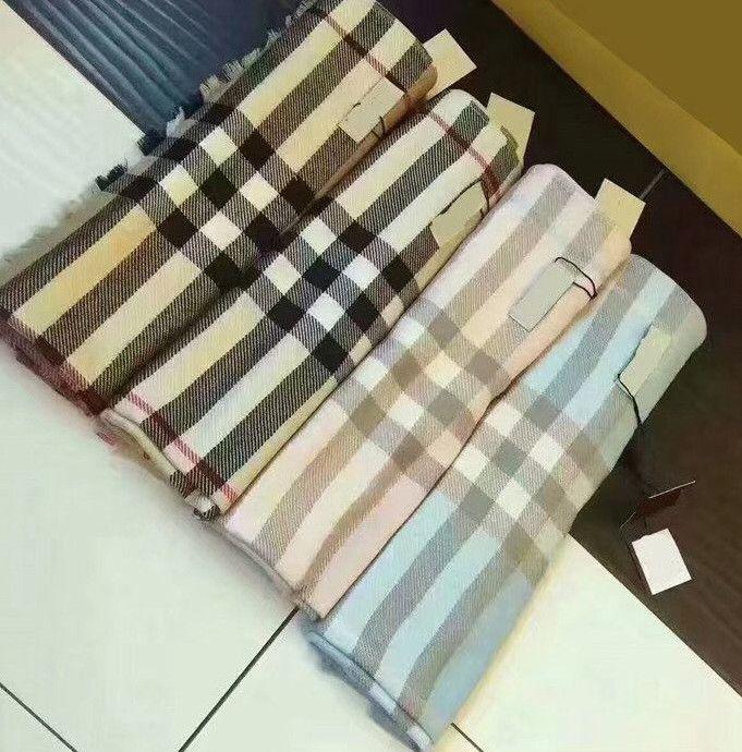 di alta qualità All'ingrosso-lusso a maglia di lana ultima squisita inverno sciarpa comodo morbido eccellente caldo a due colori fronte-retro versatile scialle sciarpa