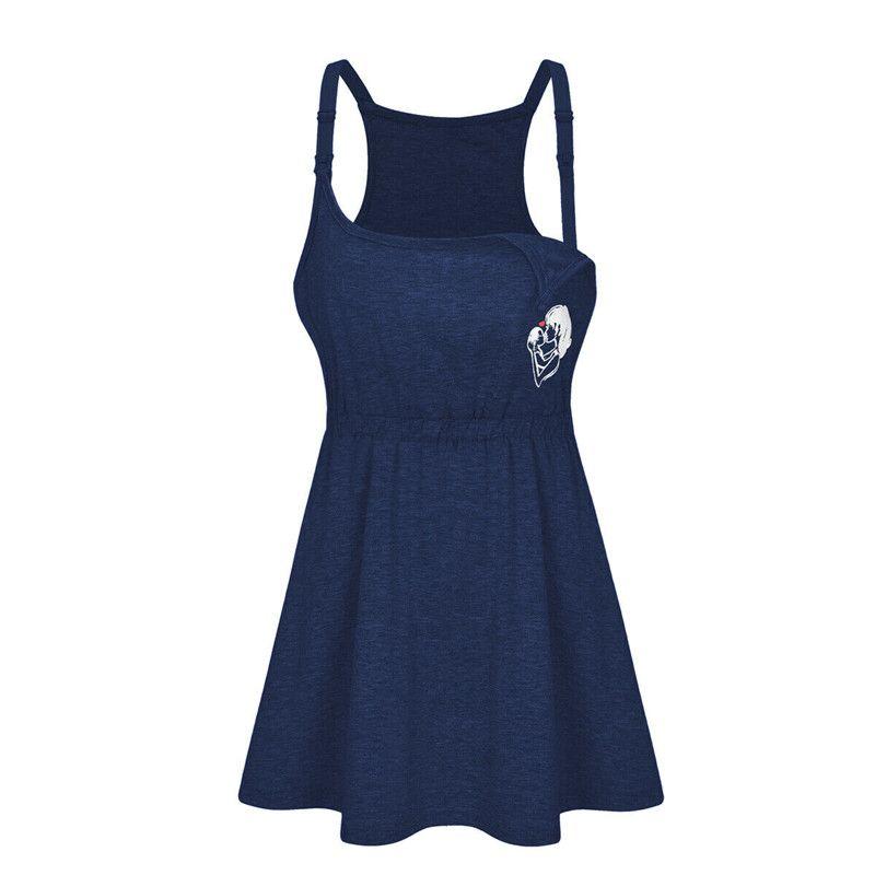 Trendy Kadınlar Hamile Geometri kayış tişörtler giysi Hamile Yaz Kolsuz Parti Hamile bir adet Tops