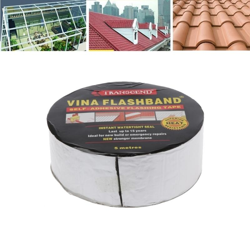 Aluminum Foil Butyl Rubber Tape Adhesive Sealing Best For Rv Roof Marine Repair Free Shipping Q190605
