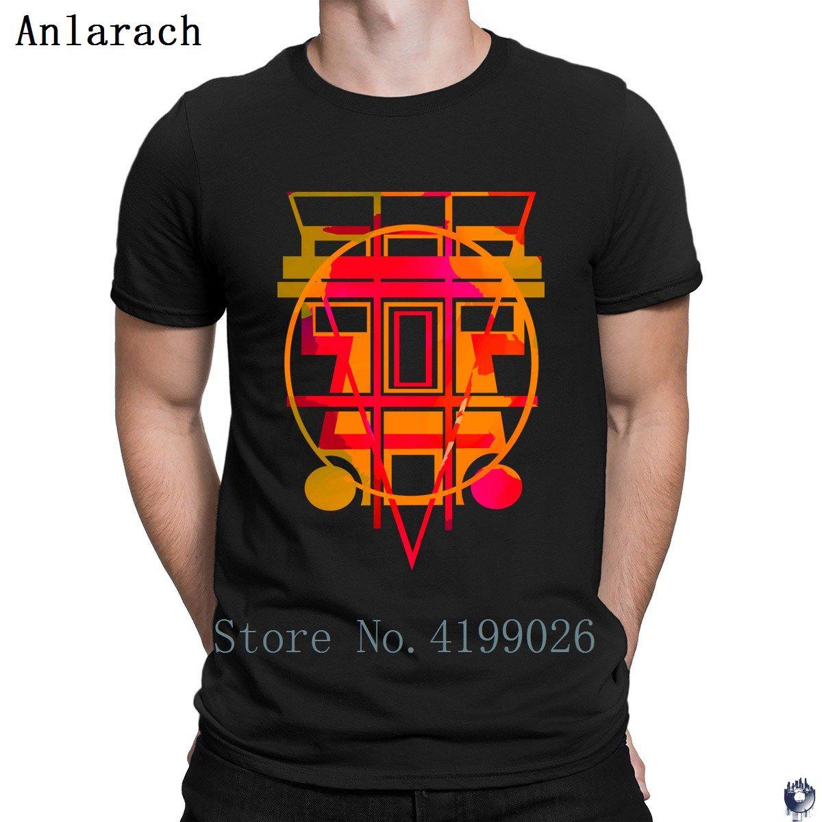 Aztec on Black tshirts Classical Unisex Pattern 100% cotton men's tshirt Interesting summer Character top tee