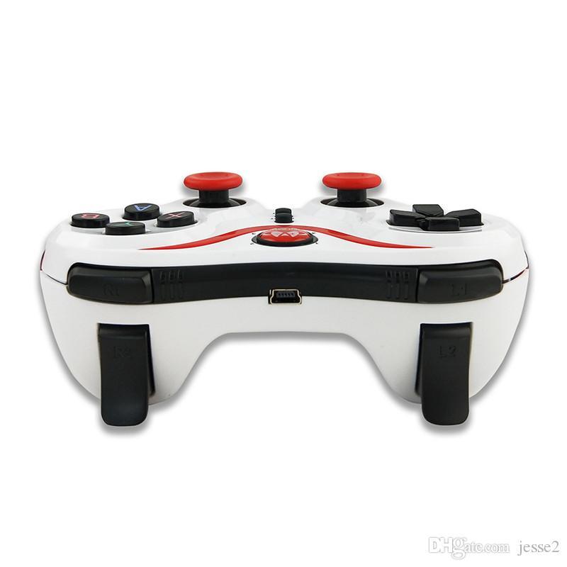 최신 50X 블루투스 게임 패드 조이스틱 세대 S5 게임 무선 게임 패드 조이스틱 스마트 폰 태블릿 PC 원격 컨트롤러