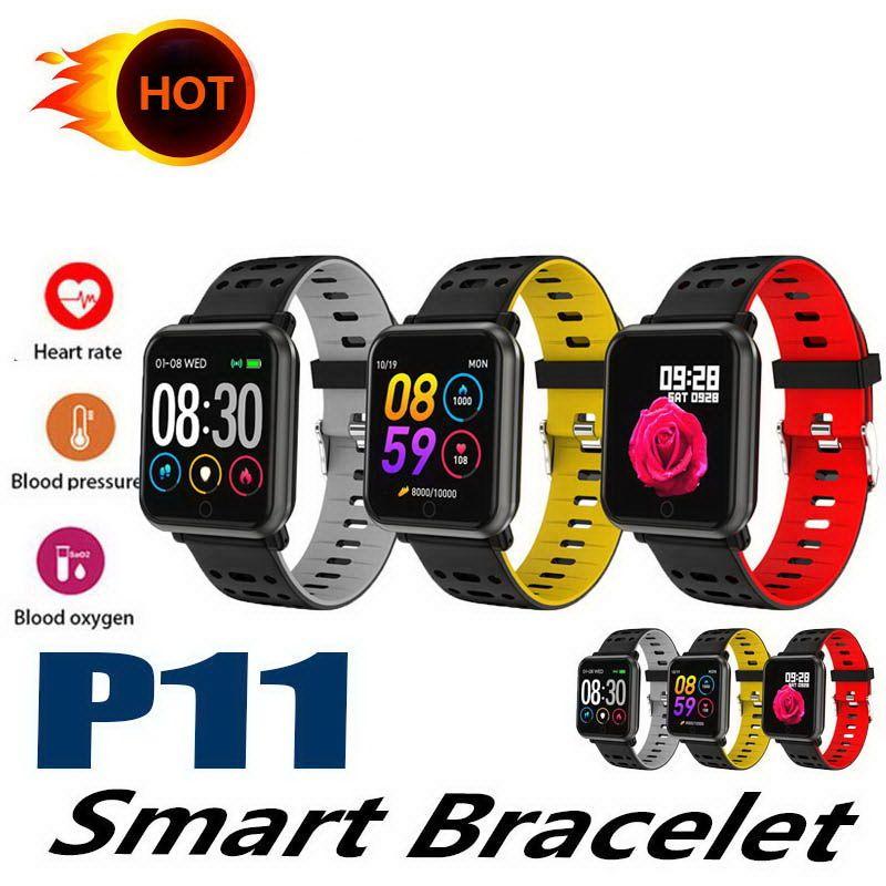 P11 умные часы фитнес-трекер reloj inteligente sport Hart Rate PK N88 умные часы для яблочных часов Better DZ09 M3 115 PLUS