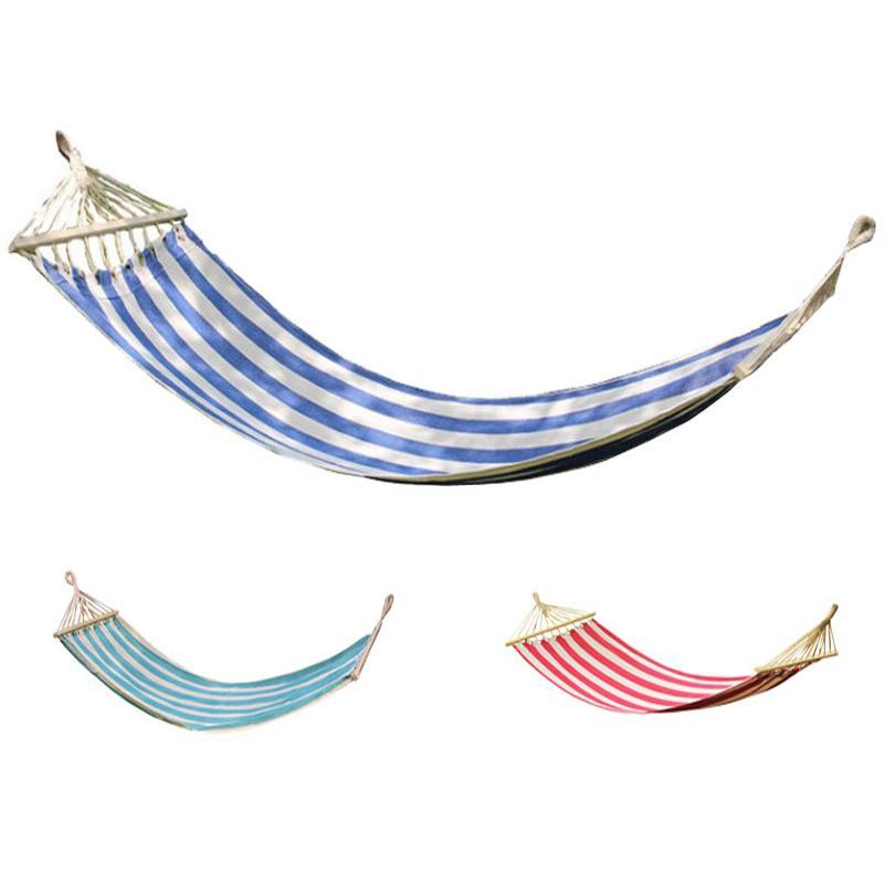 그물 침대 캠핑 레저 해먹 야외 여행 가구 정원 스윙 의자 사냥 걸기 침대 기숙사 소프트 롤오버 선물