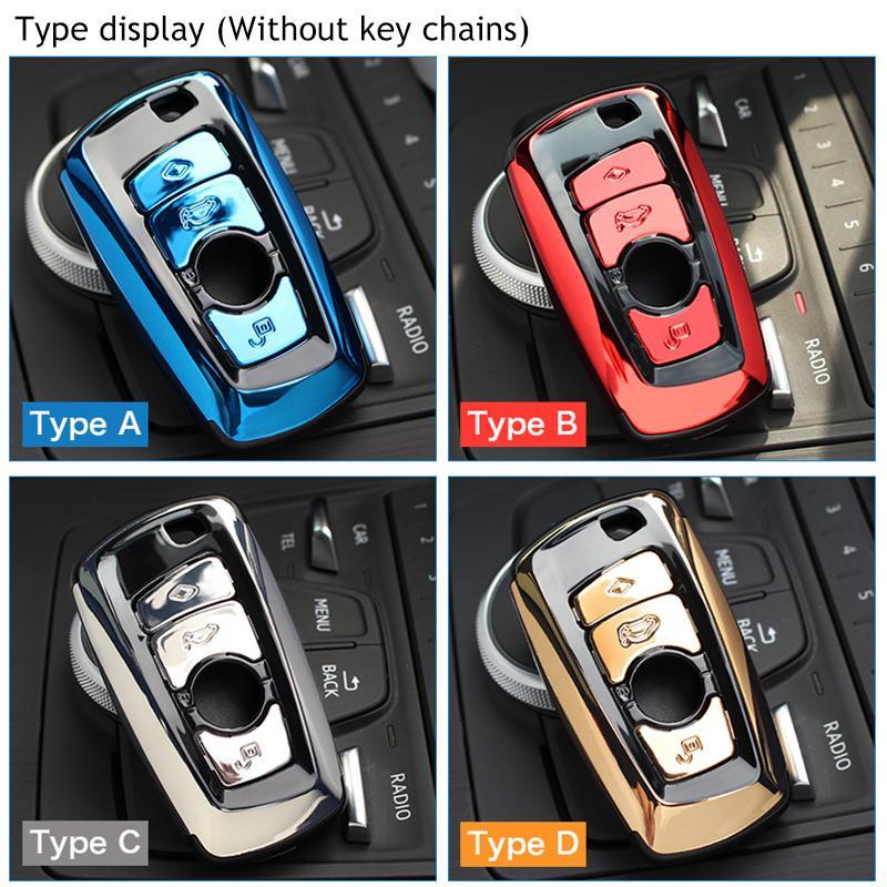 ABS السيارات مفتاح سيارة قذيفة حالة غطاء حامل F07 F10 F11 F20 F25 F26 F30