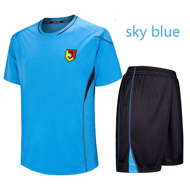 Jagiellonia Bialystok fútbol Uniforme de poliéster Formación Ocio Deportes jerseys rápida del equipo del desgaste en seco 100% Fútbol corta chándal