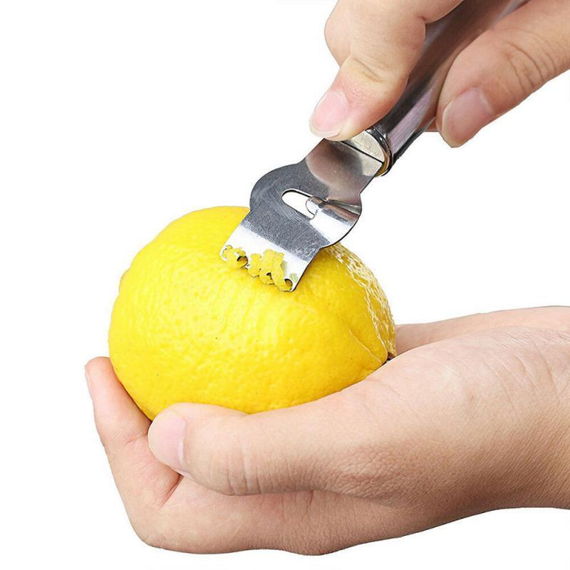 Овощечистка Кухня Craft из нержавеющей стали Новый Lemon Lime Orange Цитрусовые Zester Овощечистка