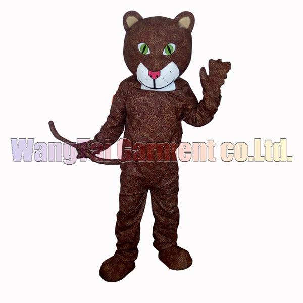 leopard mascot costume Free Shipping Adult Size,male panther mascot suit plush toy celebrates mascot factory sales.