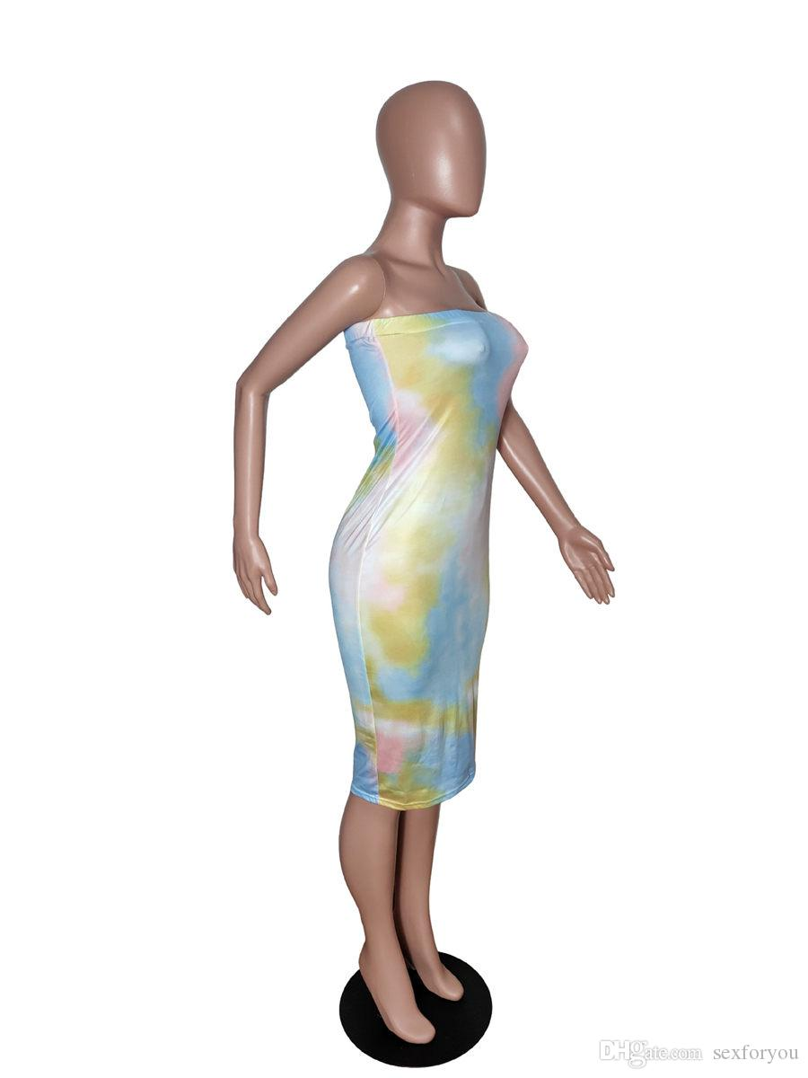 LADIES 3IN1 KNEE LENGTH CASUAL BANDEAU STRAPPY SUMMER DRESS OR SKIRT 8-14 Nwts