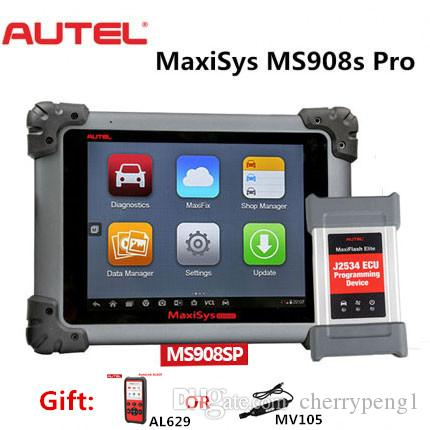 Autel Maxisys MS908S PRO Full System Diagnosis Auto diagnostic tool OBDII scanner with MaxiFlash Elite J-2534 programming upgrade of MS908P