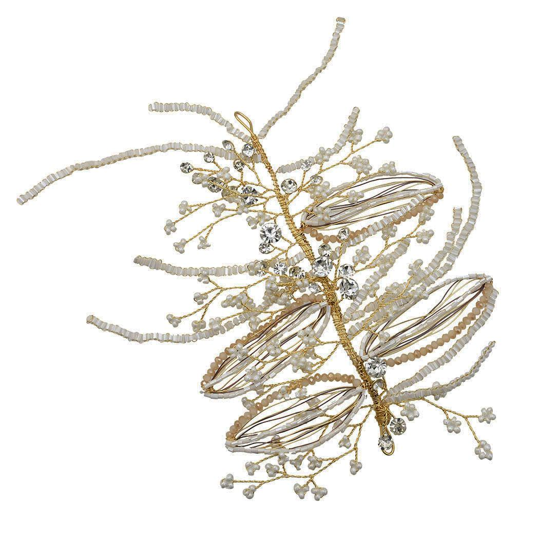 Wedding Headbands for Bridal Headpiece with Rhinestone and Beads Hair Vine Wedding Hair Accessories for Special Occasions