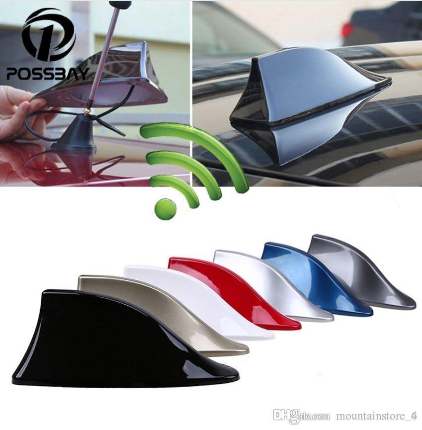 Auto-Shark FIN-Antenne-AUTO-Radiosignal-Antennen Dachantennen für BMW / Honda / Toyota / Hyundai / VW / Kia / Nissan Car Styling (Einzelhandel)