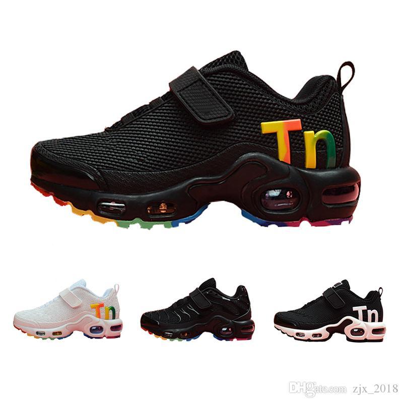 Nike Mercurial Air Max Plus Tn 2019 Çocuklar TN Artı lüks Tasarımcı Spor Koşu Ayakkabıları Çocuk Boy Kız Eğitmenler Tn 270 Sneakers Klasik Açık Toddler Sneakers