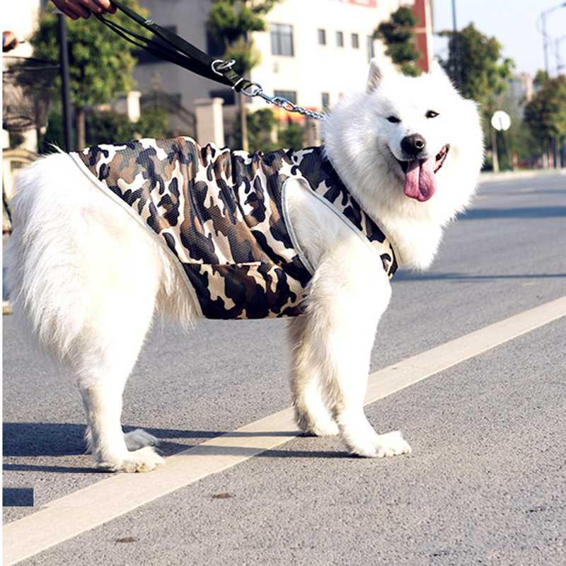 HELLOMOON Pet vest for Big Dog Stylish Fashion Breathable Mesh Vest Cooling Large Dog Summer Clothes
