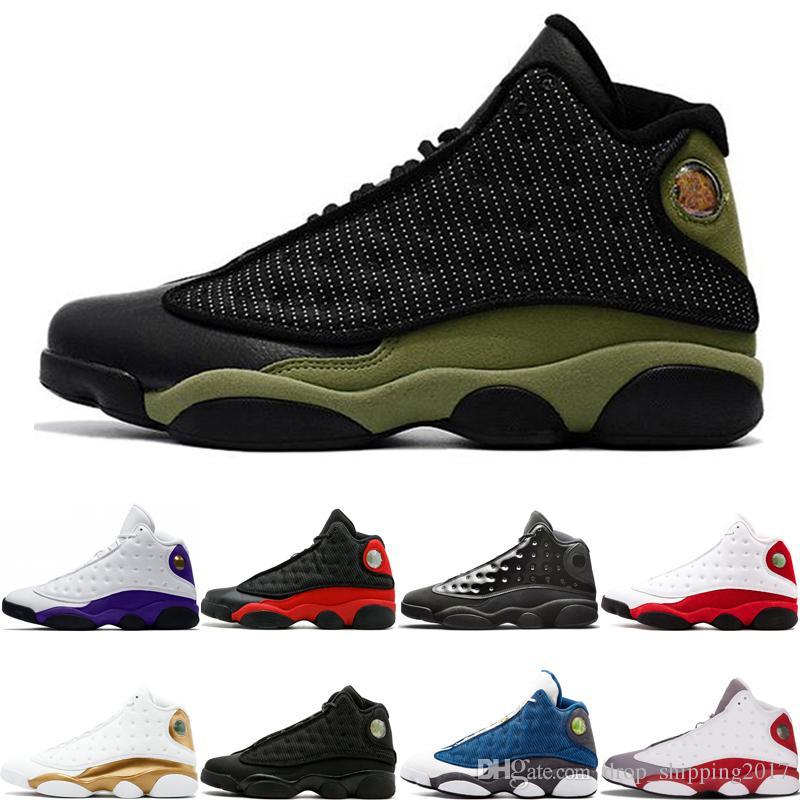 13 13 s Oliver Basketbol Ayakkabıları Lakers Rakipler kap ve cüppe Siyah Kedi Uçuş DMP Tarihini Getirdi Chicago Tasarımcı Mens Spor Sneakers 7-13