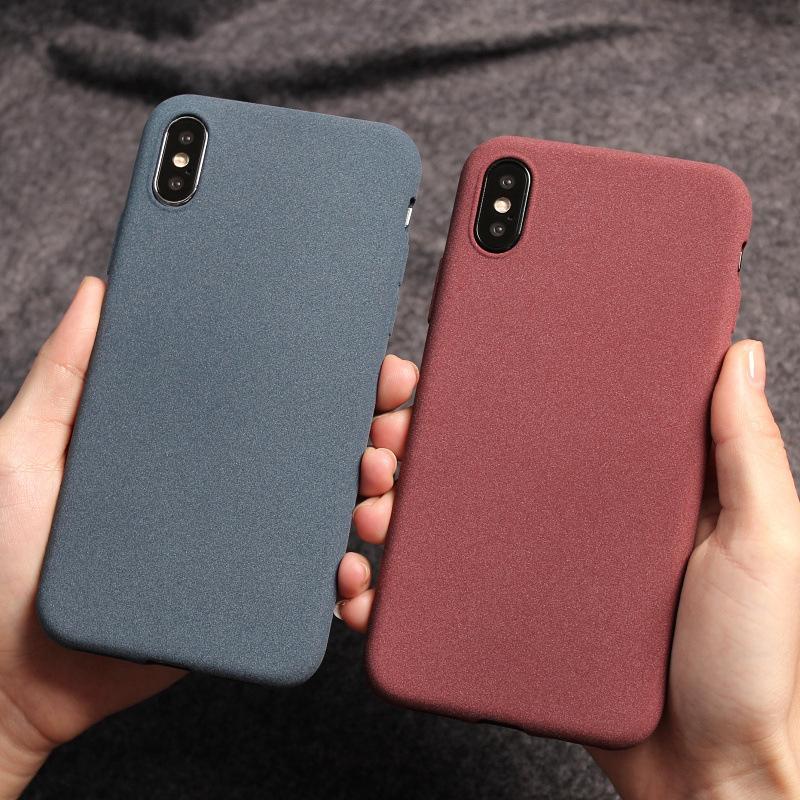 La caja del teléfono helada mate de TPU para Samsung A01 A11 A21 A41 A51 A71 A81 A91 A10 A20 A50 A70 A20E S8 S9