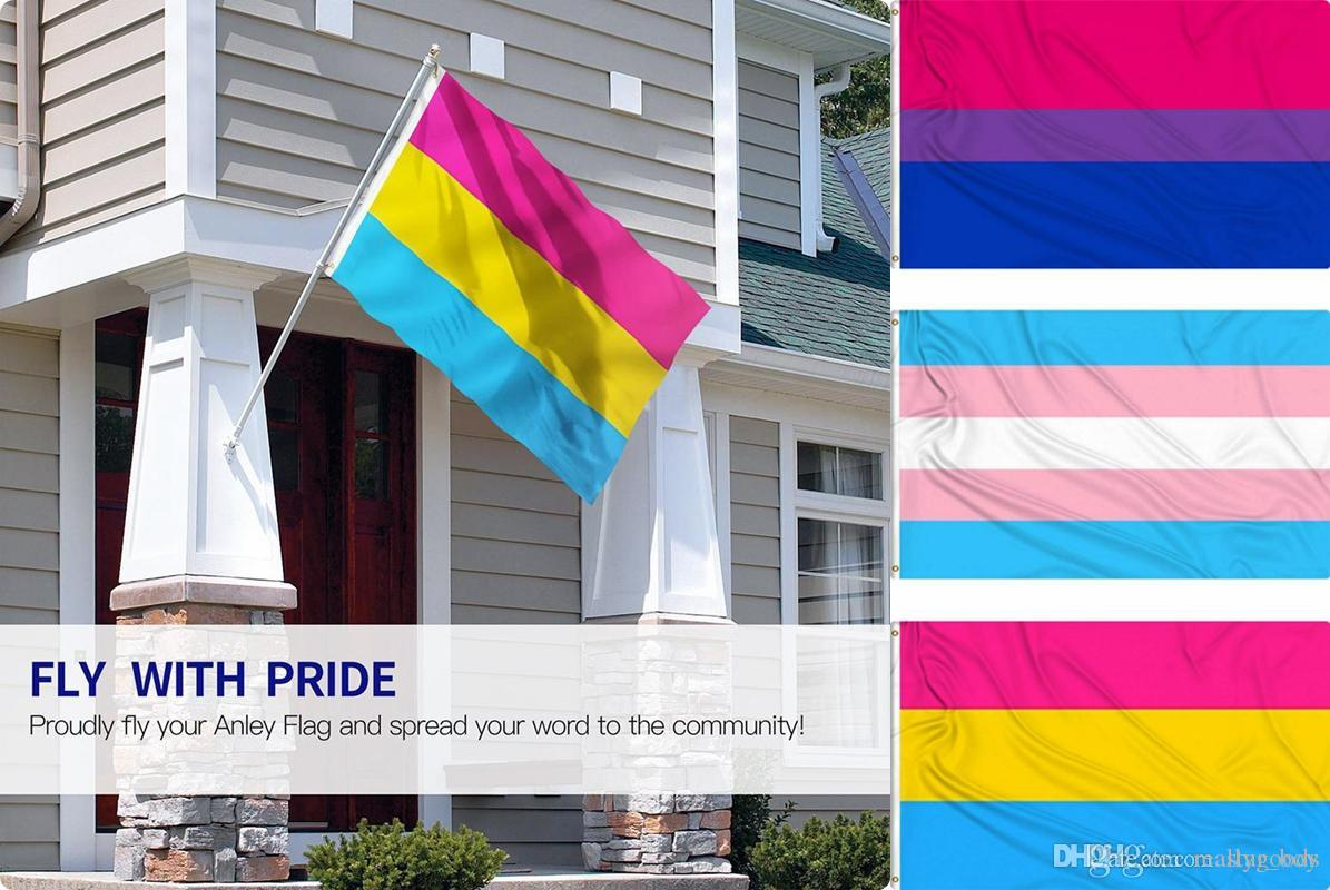3x5 Ultra Breeze Bisexual Flag Outdoor Banner Bi Pride LGBTQ Polyester New