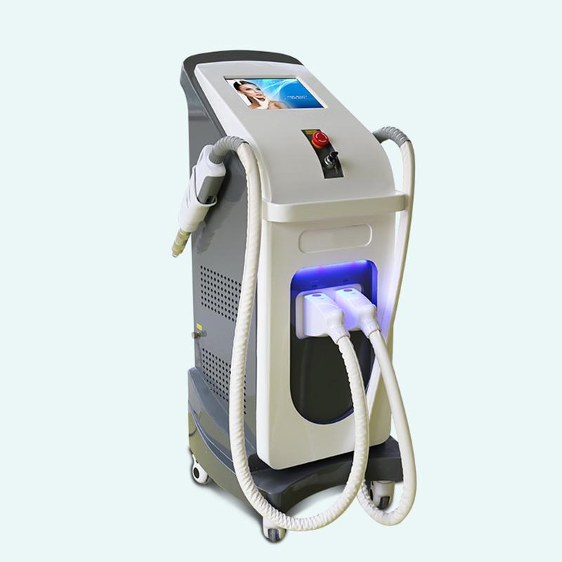 HIgh quality CE certificate hair removal IPL +nd yag laser tattoo removal machine ipl hair removal 1320nm 1064nm 532nm black baby treatment