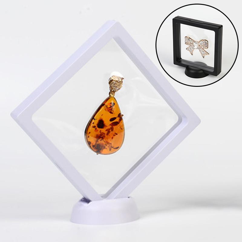 Quadro flutuante 3D Sombra Box Picture Frame Jóias exibição hipóxia Kit Protect