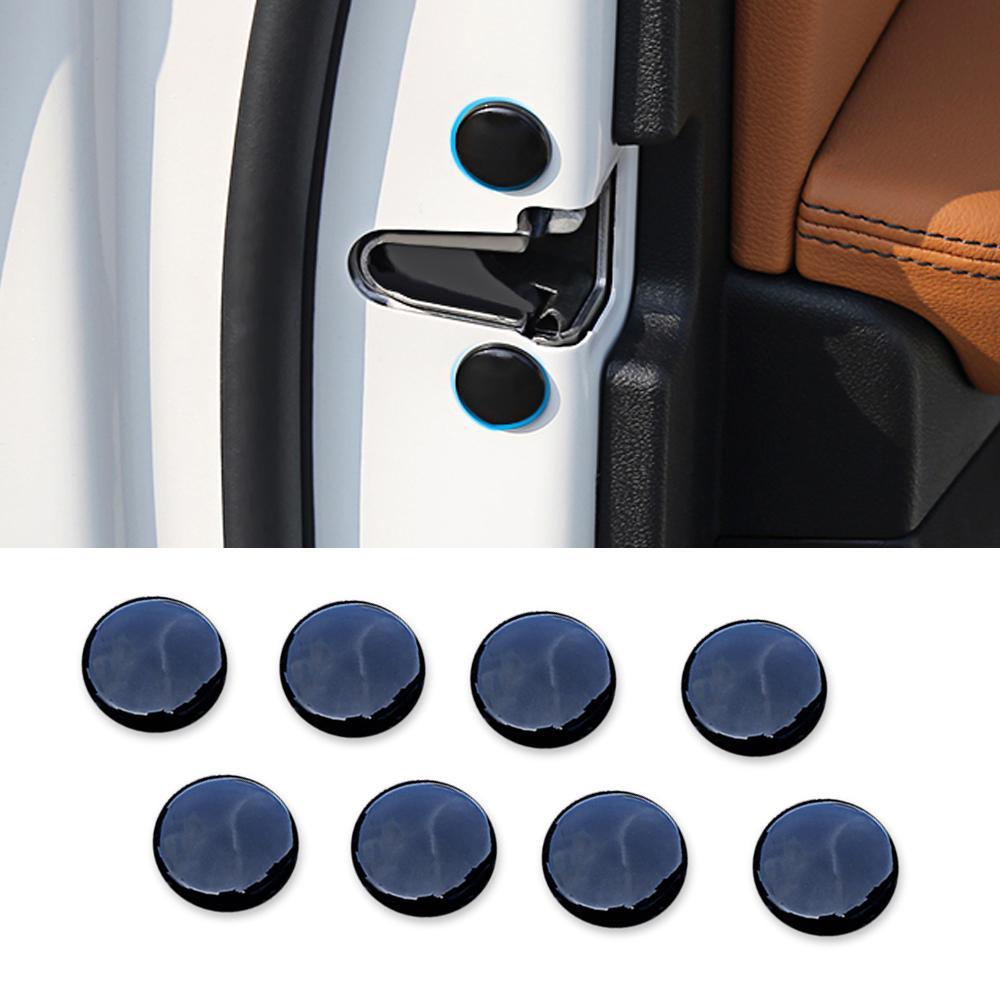 BMW X3 G01 X4 G02 2018-2020 için Araç Aksesuarları Kapı Kilidi Vidalı Koruyucu Anti-Pas Cap Kapak Çerçeve Sticker Trim Dekorasyon