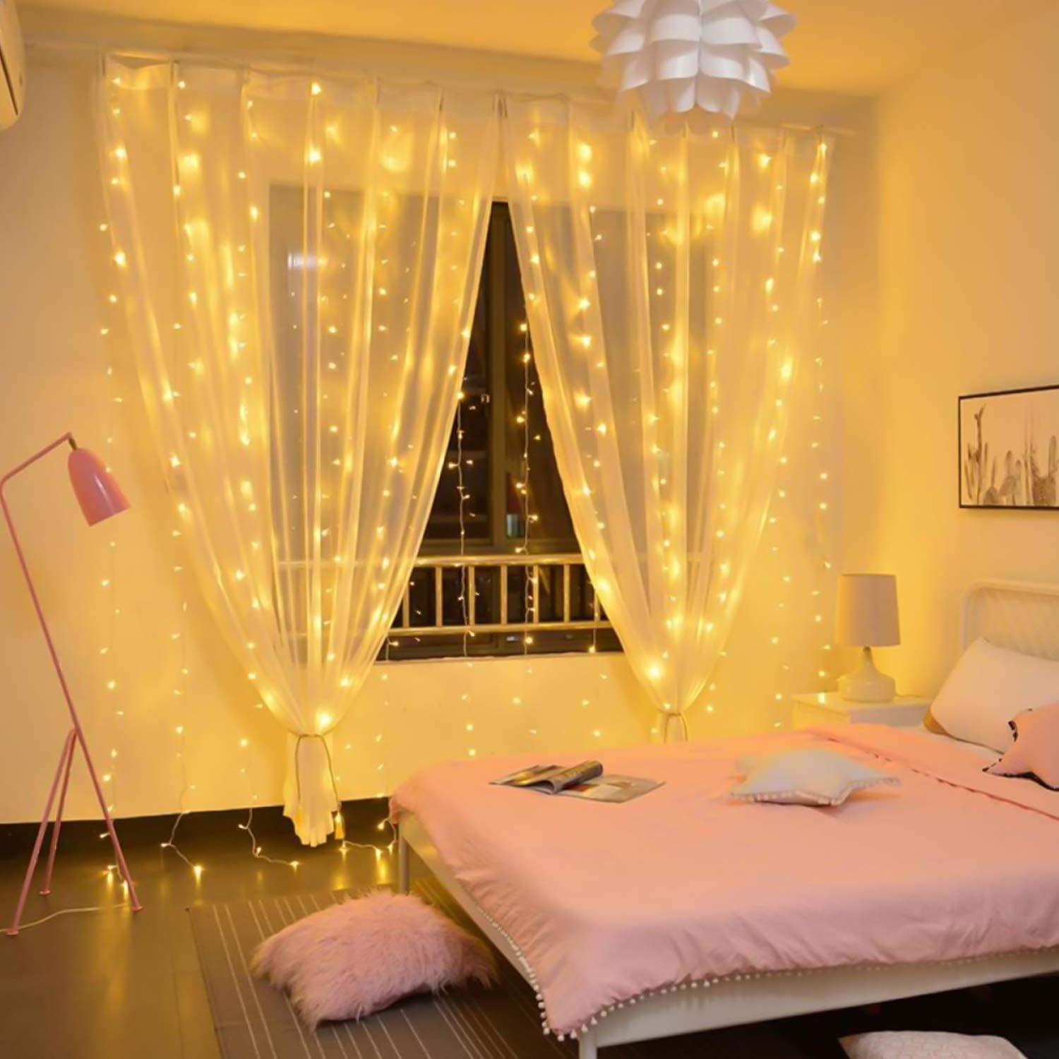3m Led Usb Power Remote Control Curtain Fairy Lights Christmas Garland Lights Led String Lights Party Garden Home Wedding Decor Christmas Home Decorations Christmas House Decor From Freshlife2020 5 42 Dhgate Com