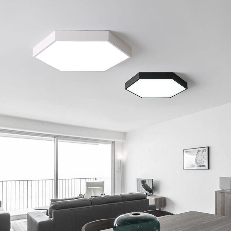 NOVO Black White 5cm iluminação espessura lustre cozinha quarto Modern chandelier Minimalismo Led candelabro ixtures luz