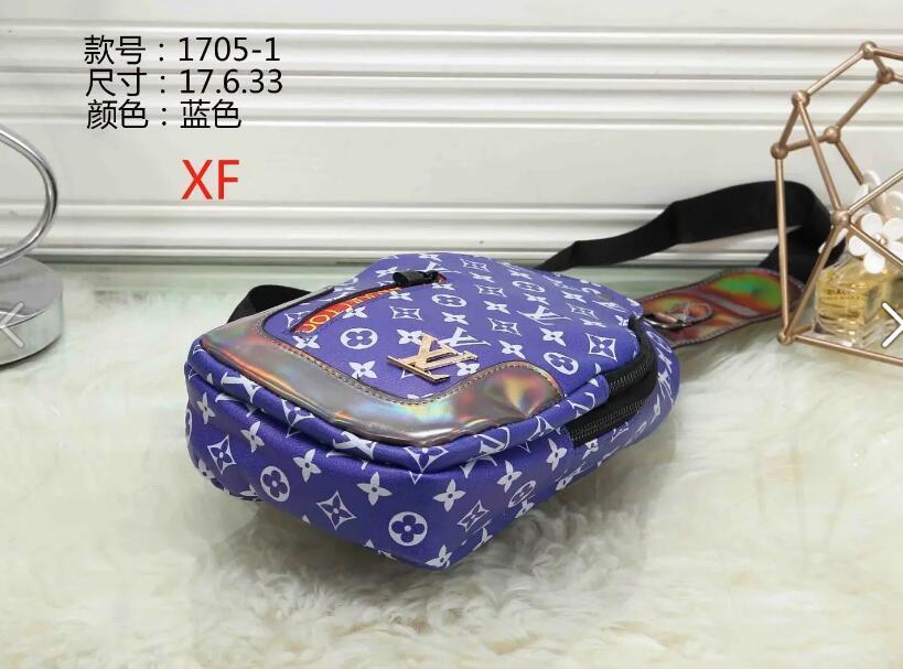 Bag 2020 novo saco no peito dos homens versão dos EUA pequena mochila bag01 cintura casuais