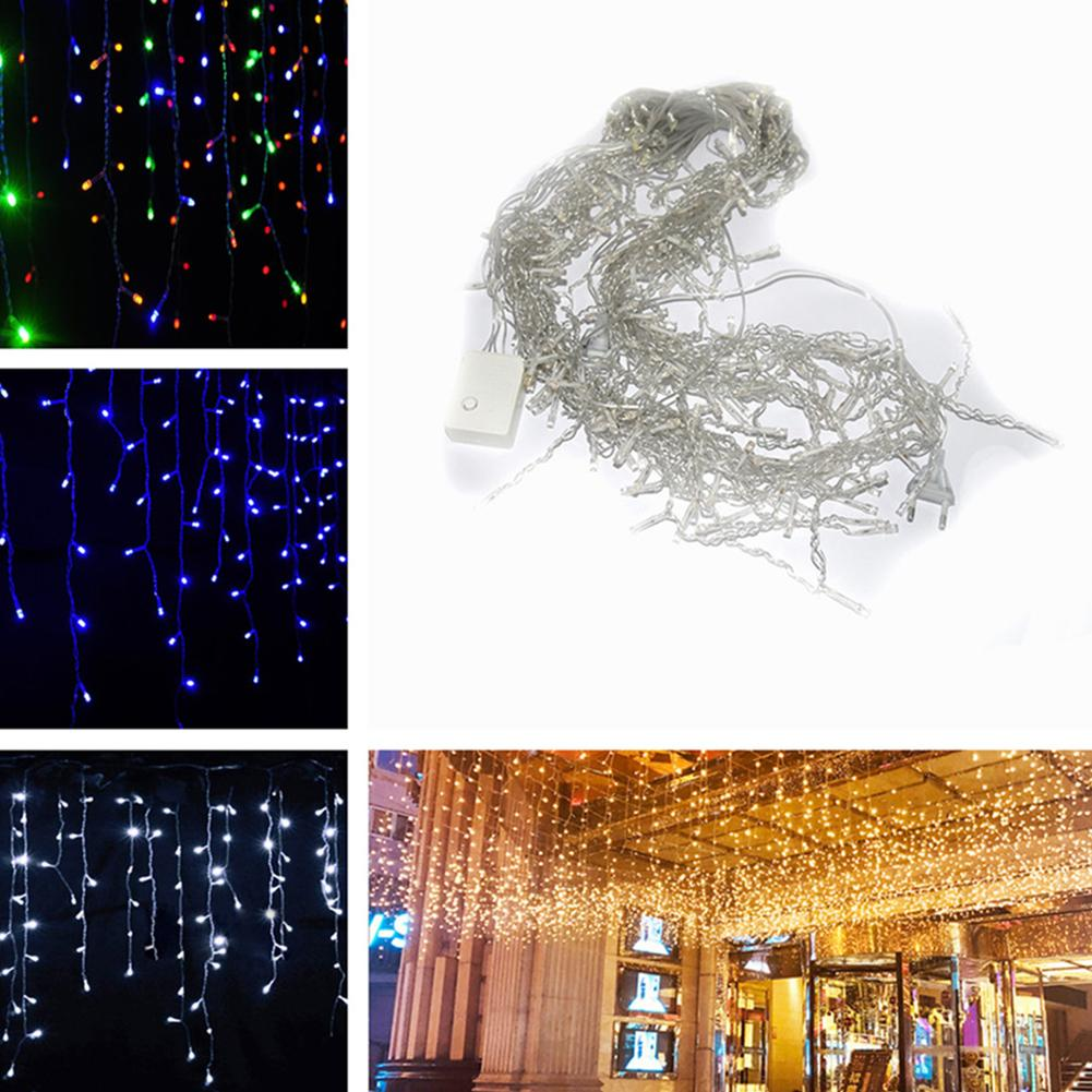 how to decorate with icicle lights.htm 3 5m 96leds droop curtain icicle string light for christmas  3 5m 96leds droop curtain icicle string