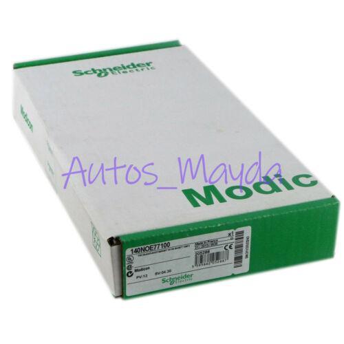Marque New Schneider Modicon 140 Noe-771-00 Marque 140NOE77100 Garantie de 1 an