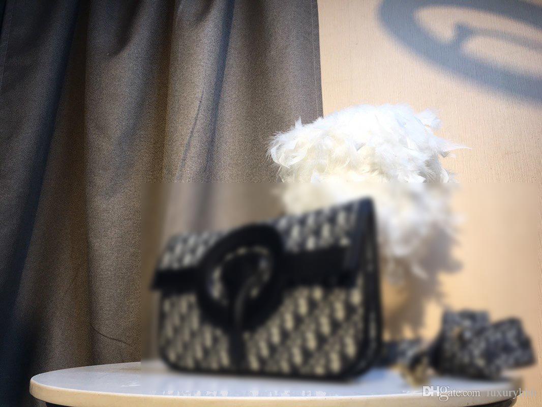 de color negro manera de las ventas calientes de moda de lujo de la marca bolsos bolsas de la compra de diseño clásicas rayas retro bolsa de compras el envío libre