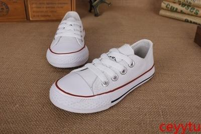 high quality All-Star Boy and girl canvas shoes Shallow women shoes Flat shoe lace-up bottom of the Oxford
