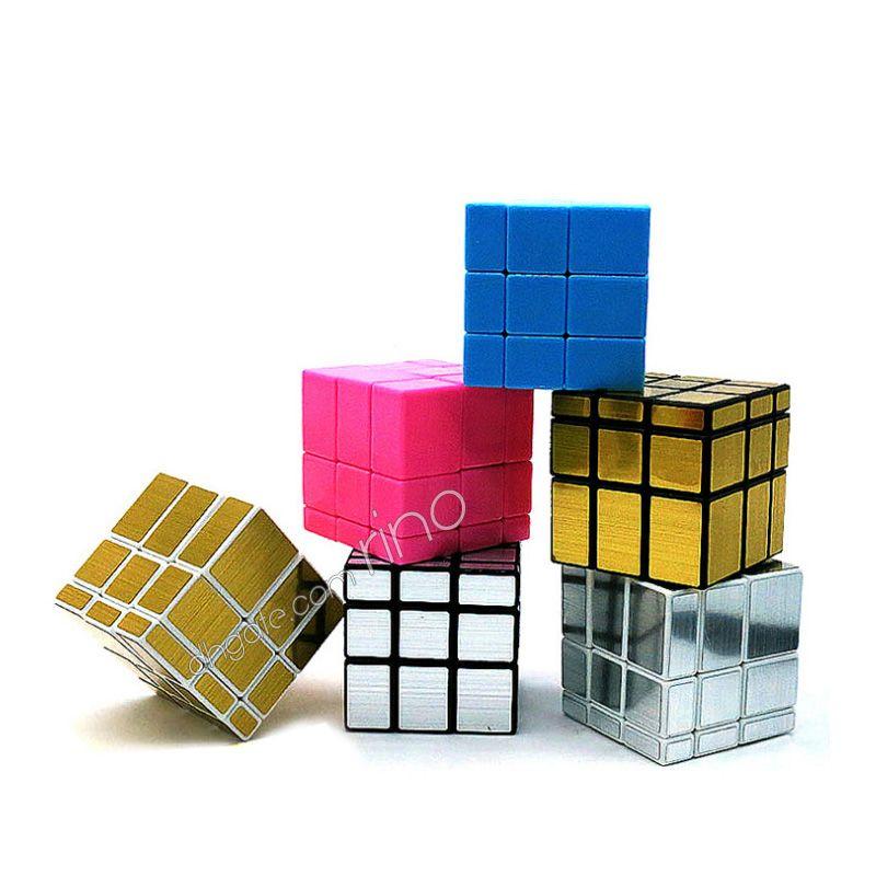 Mirror Magic Кубики 3x3x3 Professional Магия Куб Cast с покрытием головоломки Скорость куб игрушки Twist головоломка Творческий подарок для детей игрушки