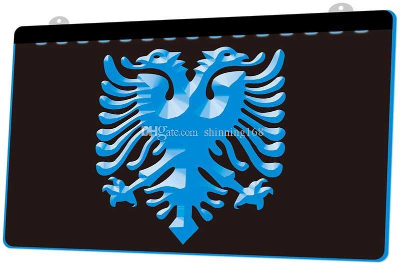 LS1076-b-Albania-Eagle-Bar-Pub-club-Logo-neón-Light-sign.jpg decoración Dropshipping de envío libre al por mayor 8 colores para elegir