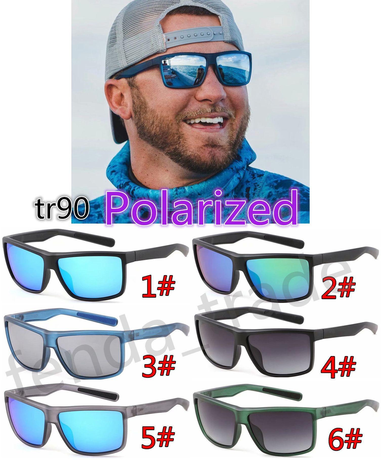 Rinconcito progettista TR90 silicone Telaio Sport Sand Black Frame polarizzato in bicicletta UV400 Uomini Donne biciclette occhiali sportivi da sole 5PCS
