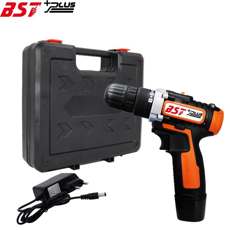Indicador de batería de 12 V de la batería de iones de litio Destornillador Taladro conductor de la llave Power Tools