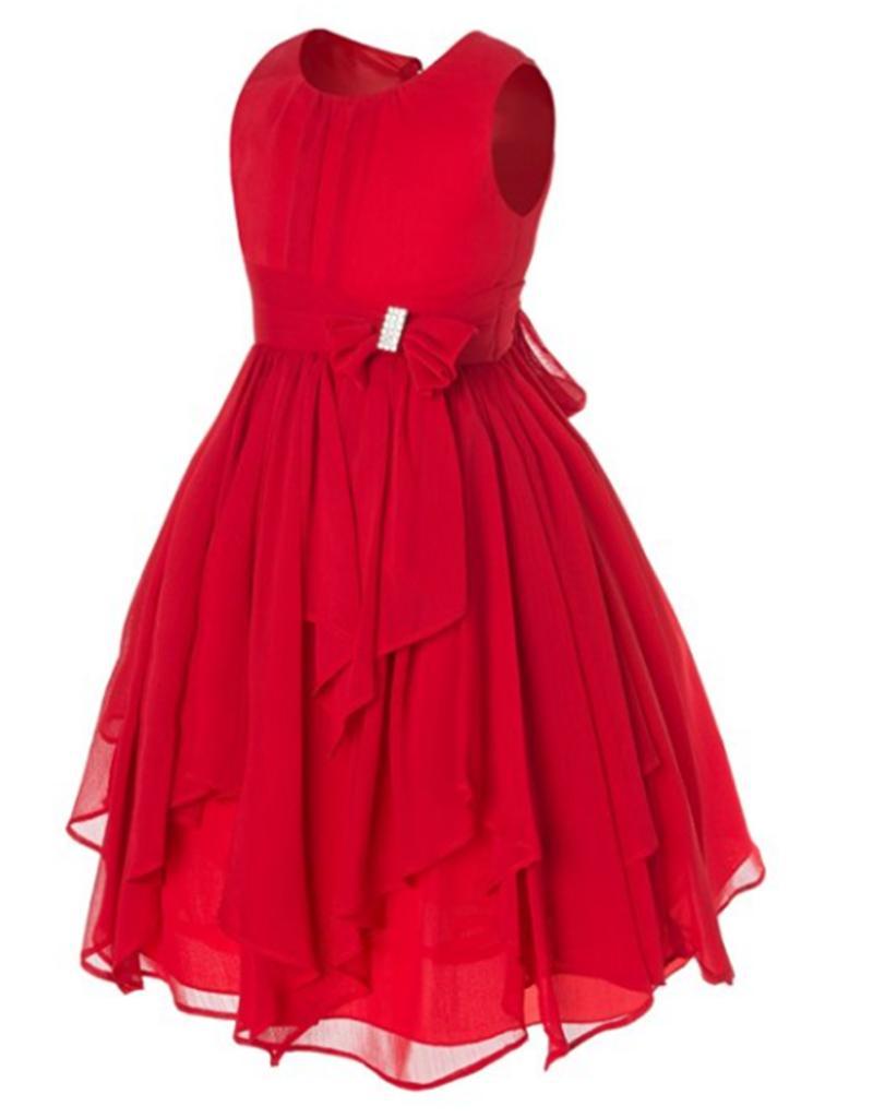 New Girls Sleeveless Lace Dress 2019 Summer Birthday Wedding Party Princess Dresses Teenager Prom Designs