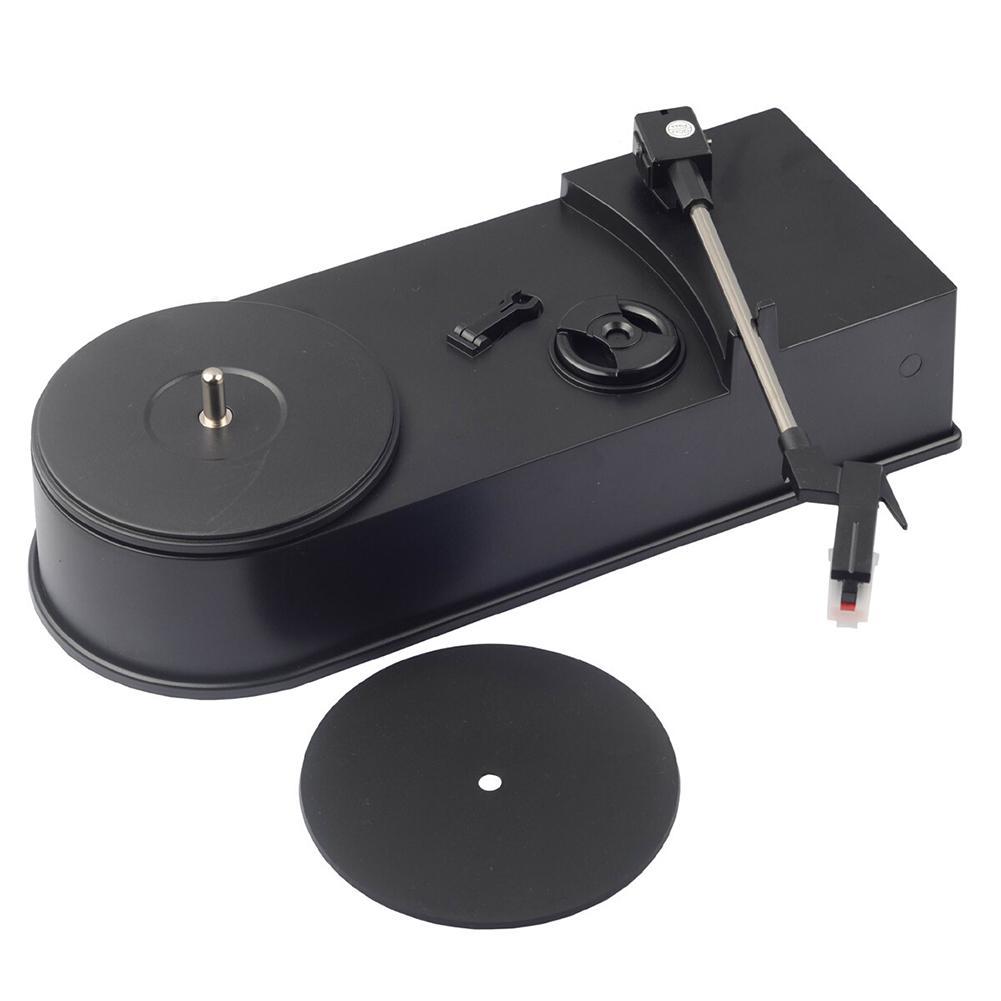 Mono Ses USB Arayüzü ABS Retro Ev Vinil Tutanak Mini Dönüştürücü Oyuncu Hediye için MP3 Plug And Play Phonograph Turntable