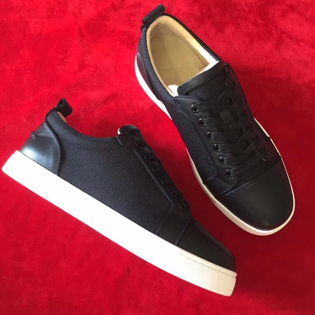 2020 Sıcak Satış Sneaker Erkekler Kırmızı Alt Ayakkabı En YENİ Tasarımcı Flats% 100 Süet Deri Kadınlar Günlük Yürüyüş Ünlü Spor Ayakkabıları