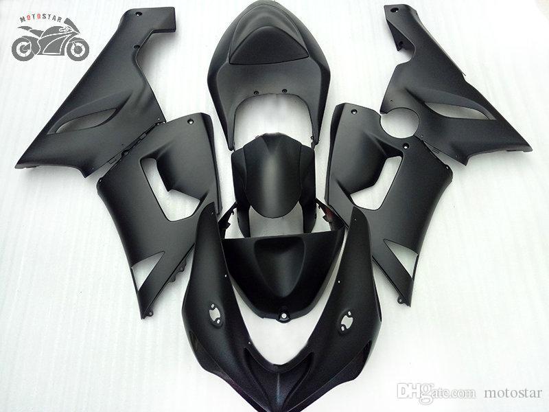ABS Plastic Backings Kit voor Kawasaki Ninja ZX-6R 2005 2006 ZX6R 636 05 06 ZX 6R Matte Black Carrosserieblokkosten
