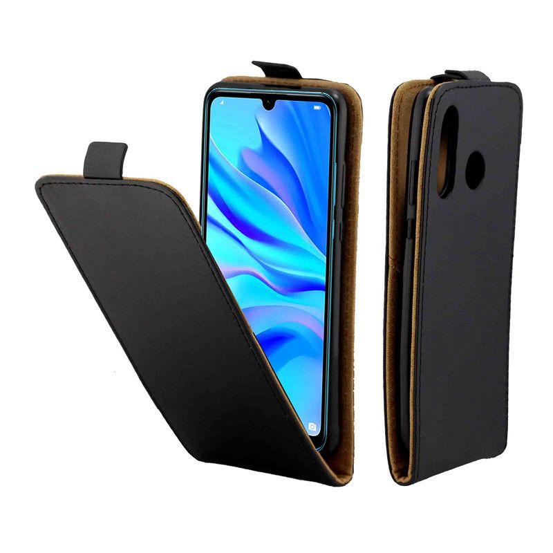 Estuche de cuero de negocios para Huawei P30 Lite casos Coque cubierta vertical con ranura para tarjeta Bolsas de teléfonos móviles para Huawei Nova 4e