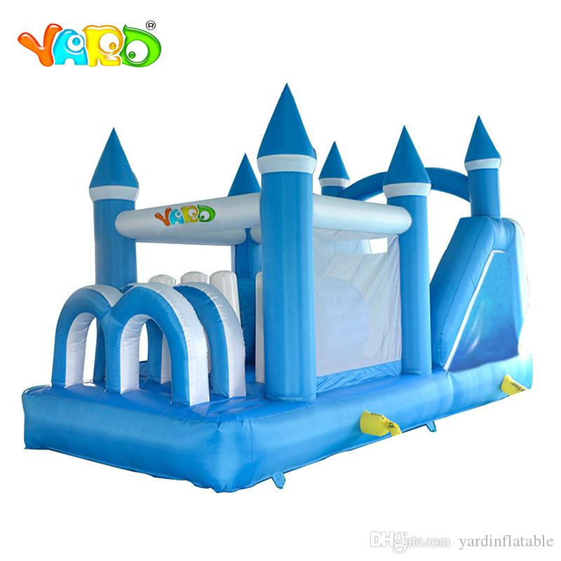 Hot selling Outdoor Inflável Princesa Bouncy Casa Inflável Bouncy Castelo Obstáculo De Bouncer Brinquedos Para Crianças Jogo Engraçado