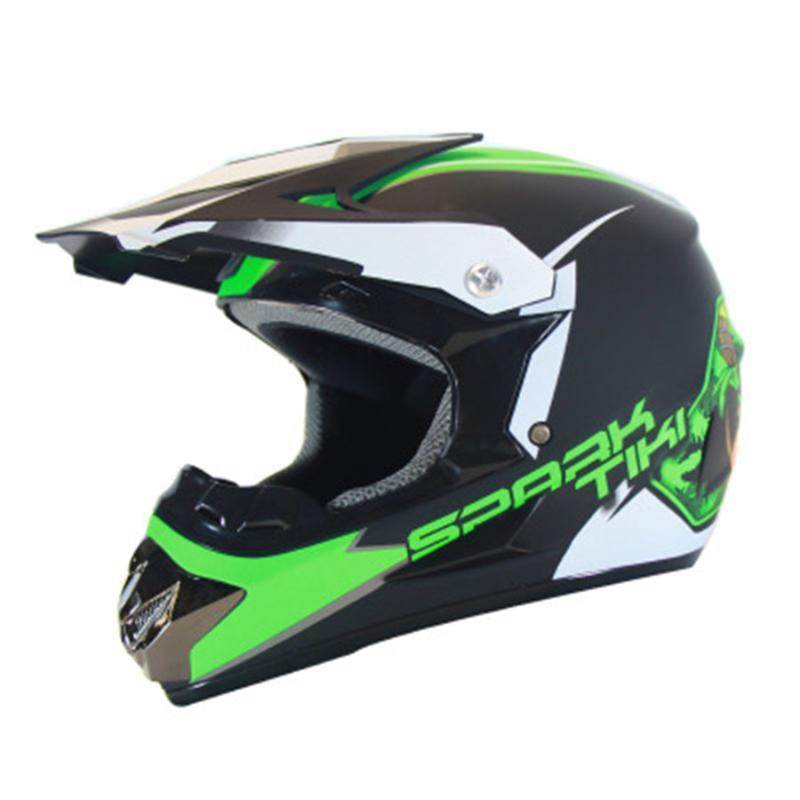Aprobación de puntos más reciente marca Motocicleta Casco Racing ATV Motocross Cascos Menwomen Off-Road Capacete Deportes Extremos