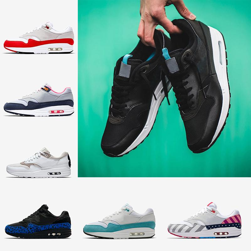 2019 bon marché 1s Chaussures de course Hommes langue tirettes blanc Ce que le OG anniversaire du Centre Pompidou Hommes Runner Entraîneur Chaussures de sport